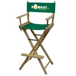 Director Chair Bar Height (2-Color Imprint)