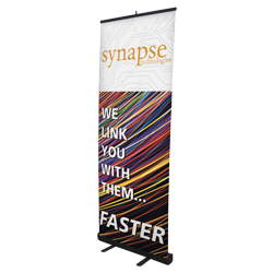 "24 Hour Quick Ship Banner Stand 31.5""W"