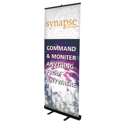 "24 Hour Quick Ship Banner Stand 33.5""W"