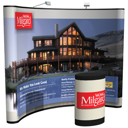 10' Ellipse Curved full mural kit