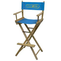 Director Chair Bar Height (1-Color Imprint)