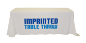 6' Economy Inprinted table throw