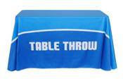 4' Printed Table Throw
